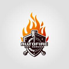 Fuego automático Vector Premium | Premium Vector #Freepik #vector #logo #negocios #coche #fuego Car Vector, Clc, Inspiration Boards, Juventus Logo, Fire, Business, Store, Business Illustration