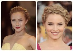 trend celebrity braided fishtail head band hairstyles with cheap human hair extensions