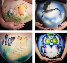 Body Painting Art  /  Body Paint and Make-up Artist Emma Fay creates these lovely pieces of art on peoples bodies.     More information and more of these images on our site, Press the Image.