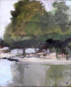 ☼ Painterly Landscape Escape ☼ landscape painting by Olivier Rouault