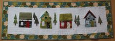 Christmas Tablerunner Christmas by ComfyCosyCrafts on Etsy