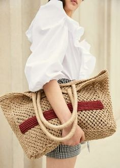 Sac toile de jute summer accessory