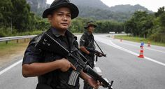 police officers, Malaysia. – Malaysia is a federal constitutional monarchy located in Southeast Asia.