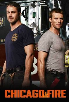 Chicago Fire...what's not to love! Taylor Kinney and Jesse Spence as Kelly Severide and Matt Casey