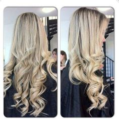 Long & blonde. #Hair #Beauty #Blonde Visit Beauty.com for more.