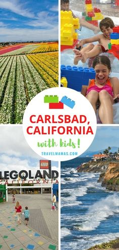 Home of Legoland California, seven miles of beaches and much more -- take a look at all the fun things to do in Carlsbad with kids! Carlsbad is just north of San Diego and south of Los Angeles, making it an easy Southern California destination. #legoland #california #travelwithkids