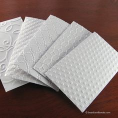 Gift Card Holders - Small White Envelopes with Assorted All Occasion Patterns