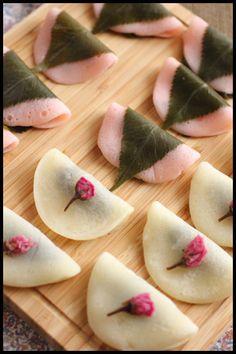 おしゃれな桜餅の作り方♡2色でちょっとだけデザインを変化