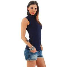 4f39cb543d BALI Lingerie - Damen Ärmellos Shirt Rollkragen - 010 #damenuhren  #damensneaker #damenfahrrad #