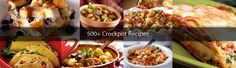 CrockPot Girls Recipe Collection - there are over 500 crock pot recipes on this site.