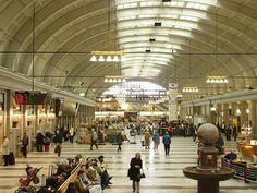 T-Centralen, #Stockholm, #Sweden the hub of public transportation in Stockholm