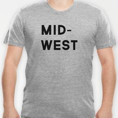 MID-WEST tee by The Made Shop