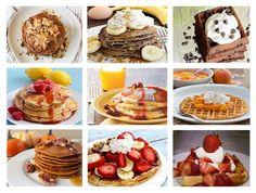 Crepe, French Toast, Pancake & Waffle Topping Ideas