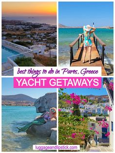 In our cruise around the Cyclades Islands with Yacht Getaways, Paros ranked high as one of our favorite Greek islands! European Travel Tips, European Vacation, Road Trip Europe, Europe Travel Guide, South America Travel, Beautiful Places To Travel, Greece Travel, Travel Pictures, Travel Usa
