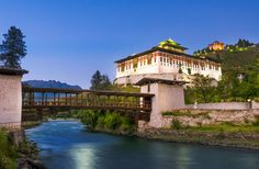 Le Meridien Paro, Riverfront, Bhutan. Launched in fall 2015—a Starwood property and prime real estate. Set along the Paro River, a short drive from the town center and just across from working orchards and rice paddies, this 59-room resort is one of the largest in Bhutan, but still feels intimate, thanks to a serene decor, attentive staff, and the overall peaceful retreat vibe.