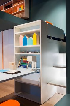 Minimalist Fun in a Child's Room with Room G by Nidi Design - http://www.decorationtrend.com/home-design/minimalist-fun-in-a-childs-room-with-room-g-by-nidi-design/
