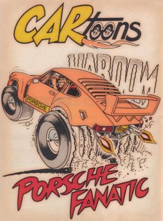 Was going through some boxes of car mags I have and came across this. Cartoons Magazine, Children Sketch, 1957 Chevy Bel Air, Magazine Pictures, Car Magazine, Car Posters, Kustom Kulture, Car Drawings, Automotive Art