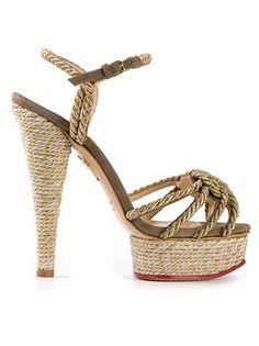 CHARLOTTE OLYMPIA 'Tangled' Platform Sandals