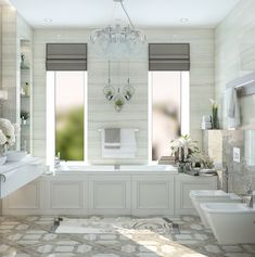 Проект ванной комнаты. Дизайнер - Дарья Одарюк. Плитка Marmi Imperiali - КАЙРОС.