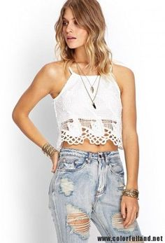 #bohemian style  white || More Fashion at www.misskady.com ||
