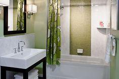 Carrara Gris 8 x 20 in Daquiri Glass 1 x 1 in Hampton Carrara Polished Somerset x 12 in Family Bathroom, Modern Bathroom, Zen Bathroom, Bathroom Inspo, Master Bathroom, Bathroom Ideas, Tub Shower Combo, Shower Tub, Shower Walls