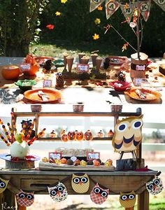 Thanksgiving day kids table ideas, tips and inspiration   Lucky Boy