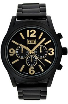 Best collection of watch brands under $50, best watch brands for men, women wrist watches collection, gold watches, mens sport watches under 50$ etc. You can also buy best watch under $50. Case Size: 48mm Plating: Black Face: Black w/ gold accents Strap: High Grade Alloy Metal Movement: Japanese Clasp: Jewelry Style Deployment Buckle Back: Stainless Steel Crystal: Mineral  Water Resistant