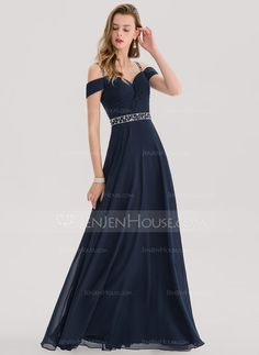 bfecb5e24225b6   140.16  A-Line Princess Sweetheart Floor-Length Chiffon Evening Dress  With Beading Sequins (017153394)