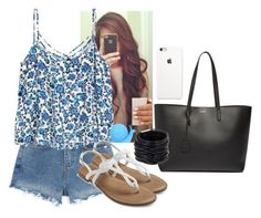"""""""Call me"""" by hannahmcpherson12 ❤ liked on Polyvore featuring Yves Saint Laurent, Saachi and Cracking Art"""