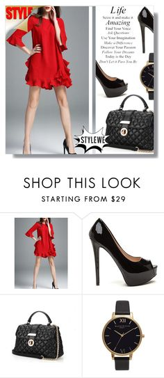 """""""styleWe 5"""" by fashion-pol ❤ liked on Polyvore featuring Olivia Burton"""