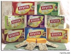 Love the Ryvita....all flavors...