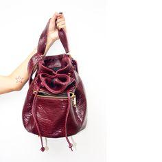 LALA Bucket Bag in wine  |  KIMDER Handbags Bucket Bag, Wine, Handbags, Wallet, Purses, Book, Closet, Accessories, Jewelry