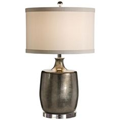 Wildwood Silver Bottle Table Lamp