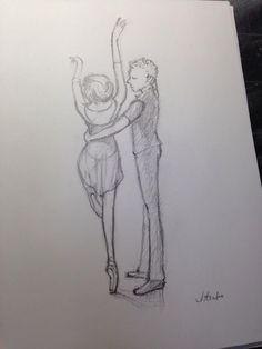 アダジオクラス スケッチ Ballet, Ballet Dance, Dance Ballet