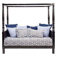 Watch for Asian influences to be strong.  The Pradesh day bed is perfect for making a big impact in a small room.