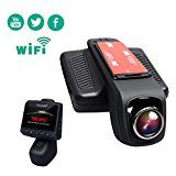 """#10: TOGUARD Car Dash Cam WiFi 170 Degree Wide Angle Lens Stealth Full HD 1080P Dash Camera 2.45"""" IPS LCD Car DVR Road Video Recorder Loop Recording HDR Parking Monitor Motion Detection - stereos (http://amzn.to/2bJuIg3) video (http://amzn.to/2bK3YaB) speakers (http://amzn.to/2bZfMGS) accessories (http://amzn.to/2brKMAO) radar detectors (http://amzn.to/2bZfobC) GPS navigation (http://amzn.to/2bZeuMn)"""