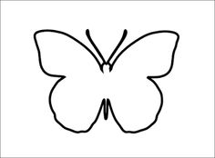 1000 images about schmetterlinge on pinterest butterflies basteln and papillons - Bastelvorlage schmetterling ...