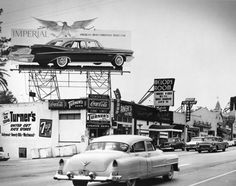 A musical blast from the past -- the Melody Room on the Sunset Strip in Los Angeles as seen around 1956.  Today the club is called the #Viper #Room and is a popular sightseeing destination for our luxury tour guests interested in music, history and celebrities. And this was the venue that got me to where I am today #selfmade