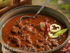 Szüreti marhapörkölt Food 52, Chili, Grilling, Cooking Recipes, Favorite Recipes, Beef, Meals, Cook Books, Drinks