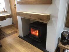 solid oak honey wax beam, handcrafted at Celtic oak Fireplace Beam, Range Cooker, Ceiling Beams, Solid Oak, Shelving, Celtic, Wax, Honey, Home Appliances