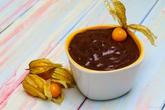 3 ingredient chocolate pudding recipe (sugar free, dairy free, guilt free, no cooking) Chocolate Pudding Recipes, Chocolate Fondue, Hand Painted Mugs, Delicious Vegan Recipes, Guilt Free, 3 Ingredients, Sugar Free, Dairy Free, Cooking