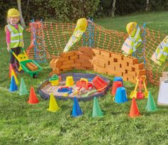 A fantastic collection, perfect for creating a realistic construction site in your role play area. Space Preschool, Outdoor Learning Spaces, Picnic Blanket, Outdoor Blanket, Role Play Areas, Cultural Capital, Outdoor Play, Playground, Construction
