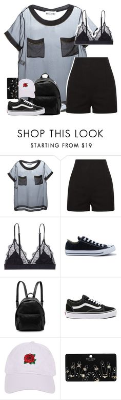 """cooool"" by remooooo ❤ liked on Polyvore featuring Moschino, La Perla, LoveStories, Converse, STELLA McCARTNEY, Vans, Armitage Avenue and Topshop"