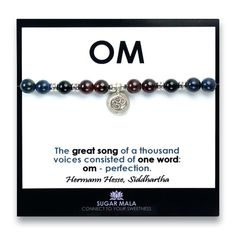 Balance Healing Bracelet, Inspirational Quote Card, Buddhist Gemstone  Crystal Set Kit, Wrist Mala, Meditation Chakra Jewelry, Yogi Gift |  Интересно ...