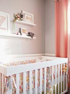 Shelves above crib?