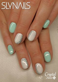 cute and highly fashionable nail art design ideas 1 Fingernails Painted, Shellac Nails, Nail Manicure, Toe Nails, Manicure Ideas, Funky Nails, Trendy Nails, Fingernail Designs, Nail Art Designs