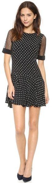 Rebecca Taylor Short Sleeve Dress polka dot outfits at www.stores.ebay.com/dressredress