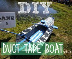 Duct Tape Boat V10