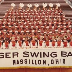 Tiger Rag 3rd row up 2nd in from right is me!