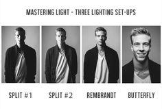 Mastering Light - Three Lighting Set-ups